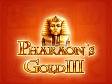 Золото Фараона 3 - в казино Вулкан