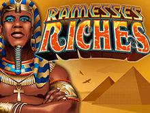 Слот Богатства Рамзесса на онлайн-платформе казино